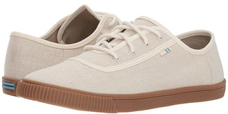 Toms Carmel (Birch Heritage Canvas) Women's Slip on Shoes