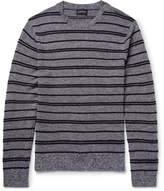 Club Monaco Striped Merino Wool Sweater