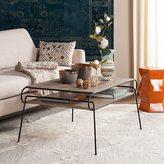 Safavieh Mid-Century Modern Marcello Light Grey / Black Coffee Table