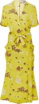 A.L.C. Stephanie Silk Printed Dress