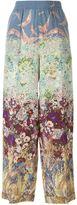 Valentino 'Landscape' palazzo pants - women - Silk - 38