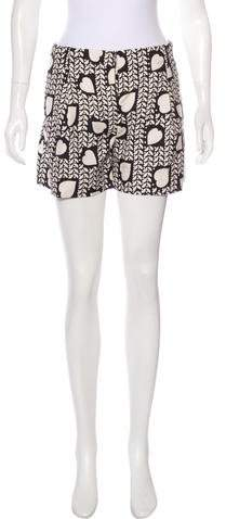 Stella McCartney Printed Mini Shorts