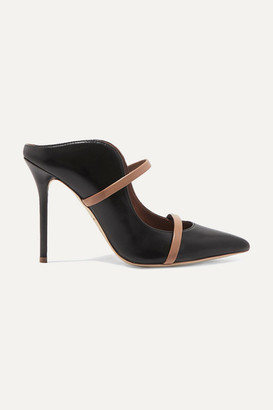 Malone Souliers Maureen 100 Leather Mules - Black
