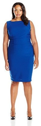 Single Dress Women's Plus Size Samantha Dress W/Side Rouching