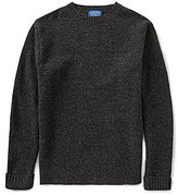 Pendleton Long-Sleeve Shetland Crew Sweater