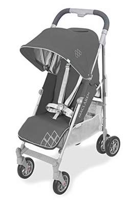 Maclaren Techno Arc Stroller- for Newborns up to 25kg with extendable UPF 50+/Waterproof Hood, Multi-Position seat and 4-Wheel Suspension. Compatible with Carry cot. Accessories in The Box