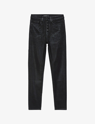 The Kooples Slim-fit skinny stretch-denim jeans