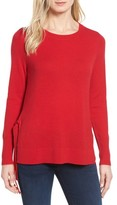 Women's Halogen Side Tie Cashmere Sweater