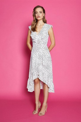 Coast Spotty Wrap Dress