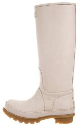Brunello Cucinelli Leather Knee-High Boots w/ Tags