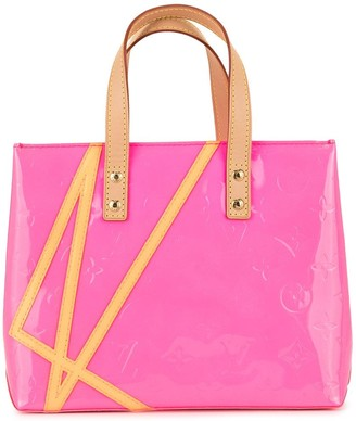Louis Vuitton Pre Owned Vernis Fluo Reade PM tote