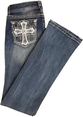 Grace in LA Cross Pocket Jeans
