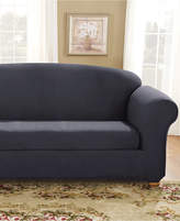 Sure Fit Stretch Suede Box Cushion Sofa Slipcover Bedding