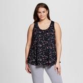 Xhilaration Women's Plus Size Knit Pajama Tank