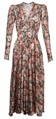 Paco Rabanne Floral print dress