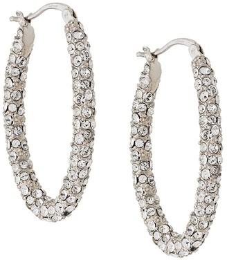 Alexander McQueen crystal embellished hoops