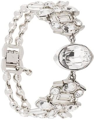 Givenchy Pre Owned Crystal-Embellished Bracelet
