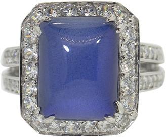 FANTASIA Asscher Cut Sapphire Ring