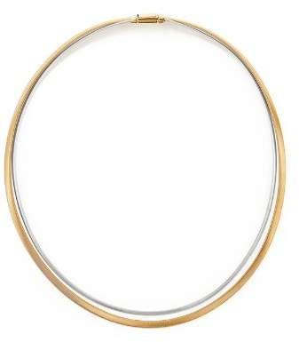"""Marco Bicego 18K Yellow and White Gold Masai Two Strand Collar Necklace, 17"""""""