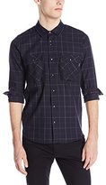 Volcom Men's Grid Long-Sleeve Shirt