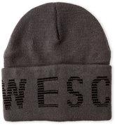 Wesc Logo Graphic Cuffed Beanie