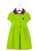 Gucci Kids - contrast collar dress - kids - Cotton/Spandex/Elastane - 9-12 mth