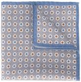 Eleventy dotted pocket square - men - Wool - One Size