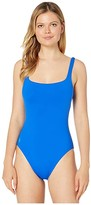 Polo Ralph Lauren Modern Solids Martinique Tank One-Piece (Cobalt) Women's Swimsuits One Piece