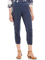 XCVI Jetter Ruched Cropped Pants