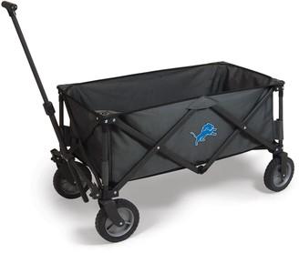 Picnic Time Detroit Lions Adventure Folding Utility Wagon