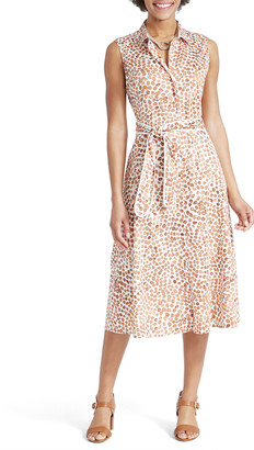 Nic+Zoe Copper Kiss Sleeveless Shirtdress