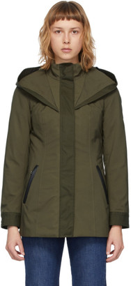 Mackage Khaki Alba Rain Jacket
