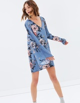 MinkPink Penelope Button Tunic Dress