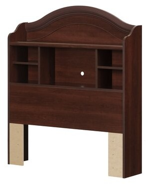 South Shore Summer Breeze Bookcase Headboard Color: Royal Cherry, Size: Twin
