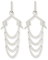 Stephen Webster 18K Barbed Ripple Earring with Diamonds