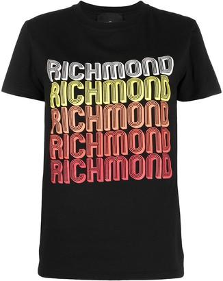 John Richmond logo-print T-shirt