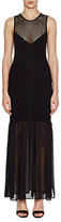 French Connection Chantilly Beau Jersey Maxi Dress, Black