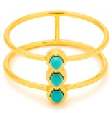 Gorjana Mirrah Double Bar Ring