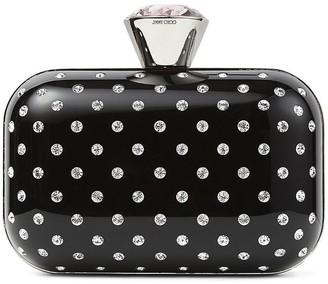 Jimmy Choo Cloud crystal-embellished clutch bag