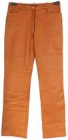BCBGMAXAZRIA Straight Leather Pants