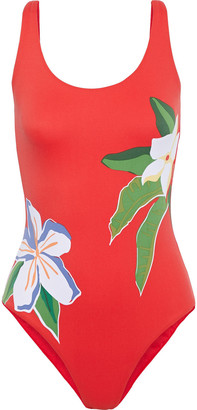 Onia Kelly Floral-print Swimsuit