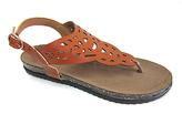 Sabrina Cognac Cutout Sandal