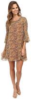 KUT from the Kloth 3/4 Ruffle Sleeve Dress