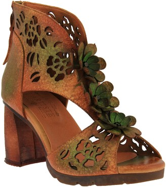 Spring Step L'Artiste by Leather Sandals - Marieloves