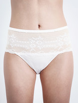 Chantelle Idole Sexy stretch-lace and mesh hipster briefs