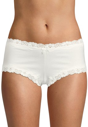 Ava & Aiden Lace Trimmed Boyshorts