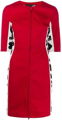 Love Moschino Love panelled dress