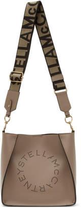 Stella McCartney Taupe Mini Crossbody Bag