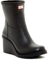Hunter Refined Wedge Waterproof Rain Boot