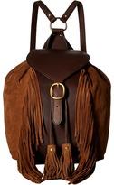 Frye Clara Fringe Backpack